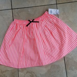 OshKosh B'Gosh Striped Skirt Pink 4T NWT